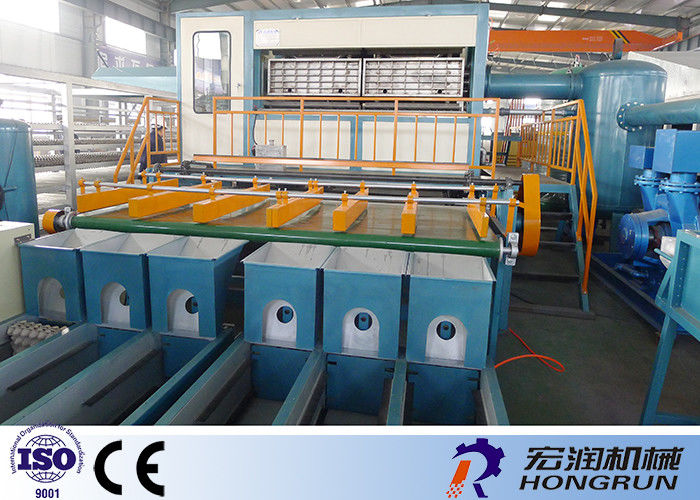 Paper Pulp Molding Machine For Egg Trays Various Capacity 1000 - 6000PCS Per Hour